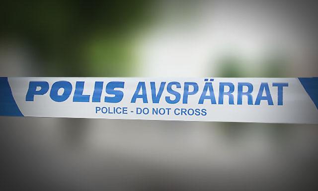 Polis-avspärrat